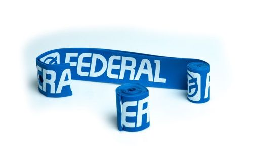 Federal XL Rim Tape (Pair) - Blue With White Logo